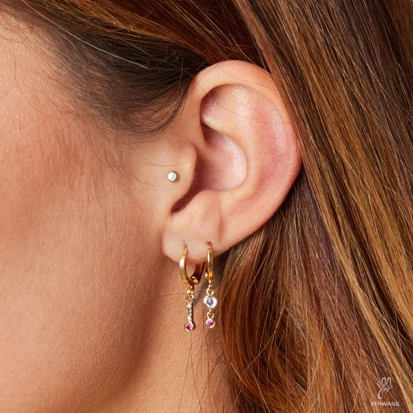 Earrings Sparkling Bar