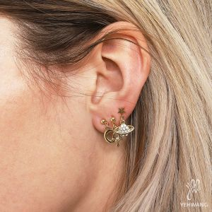 Earrings Planet II