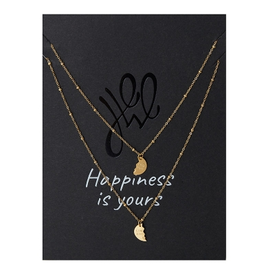 Ketting Wenskaart  Limited Edition - 2 Piece