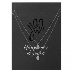 Necklace Postcard Enjoy Life - 2 Piece