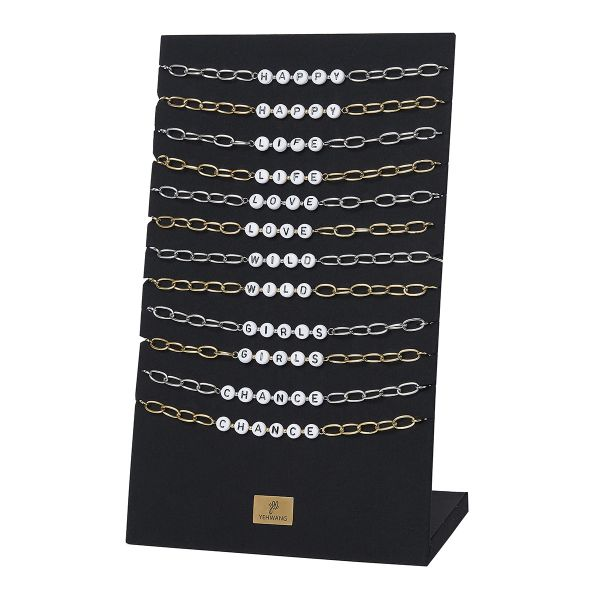 Ketting display set happy quote