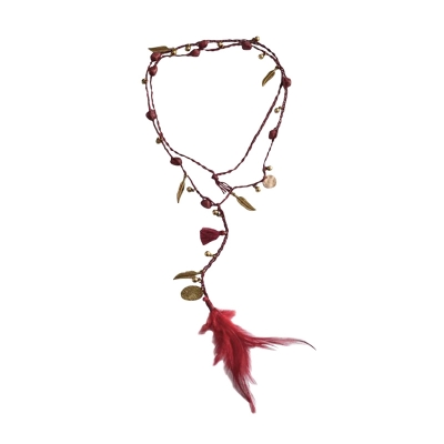 Necklace Izzy -red-