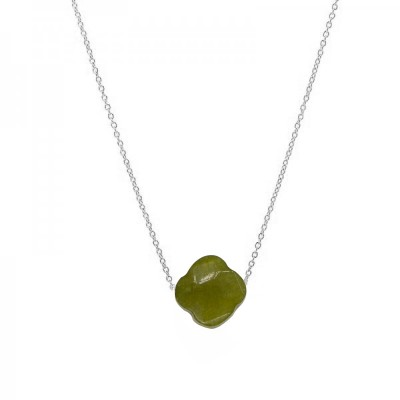 Ketting Colored Clover -groen-