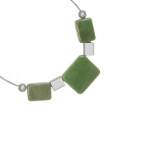 Necklace Artistic Rectangles