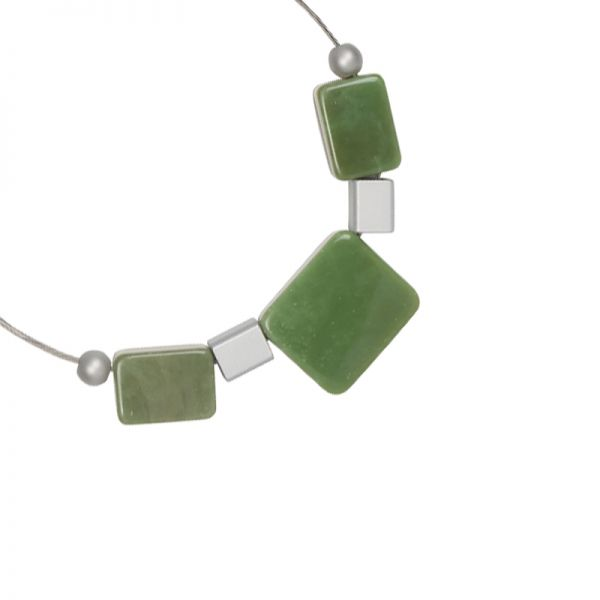 Ketting artistic rectangles