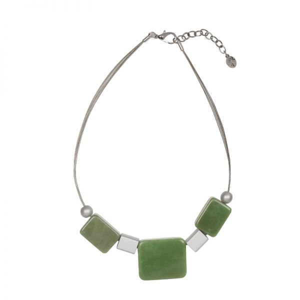 Collier artistic rectangles