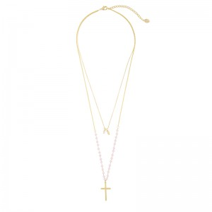 Kette Beaded Cross
