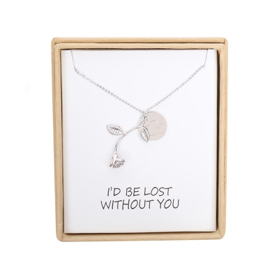 Necklace I'd be lost without you