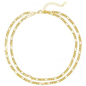 Collier Double Chain