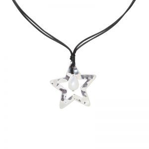 Necklace Pearl Star