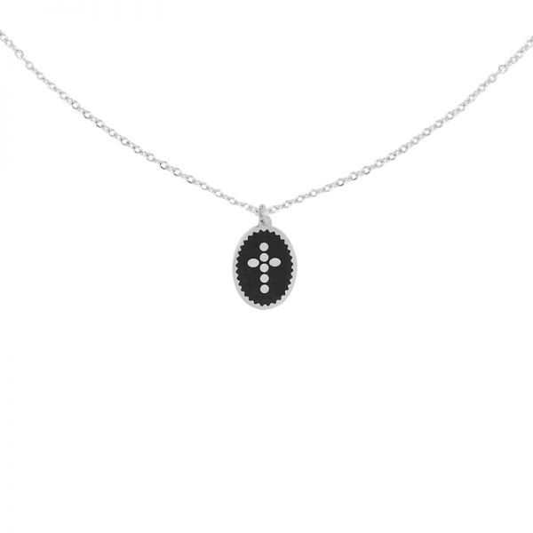 Necklace Dots Cross