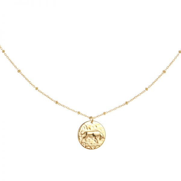 Necklace constellation - taurus