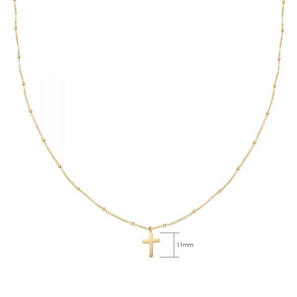 Necklace Classic Cross