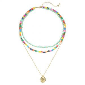 Necklace summer beads