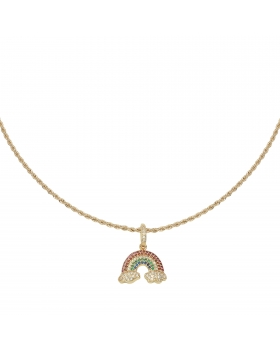 Necklace Zirconia Rainbow