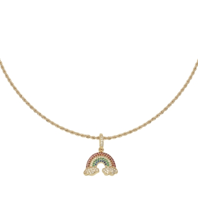 Collar Zirconia Rainbow