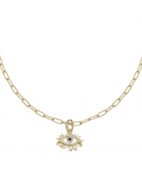 Necklace Zirconia Eye