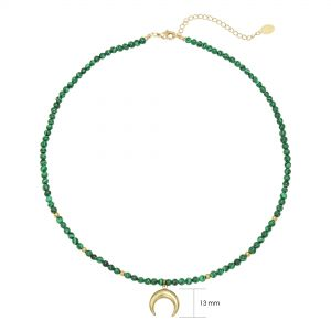 Necklace Moon Beads