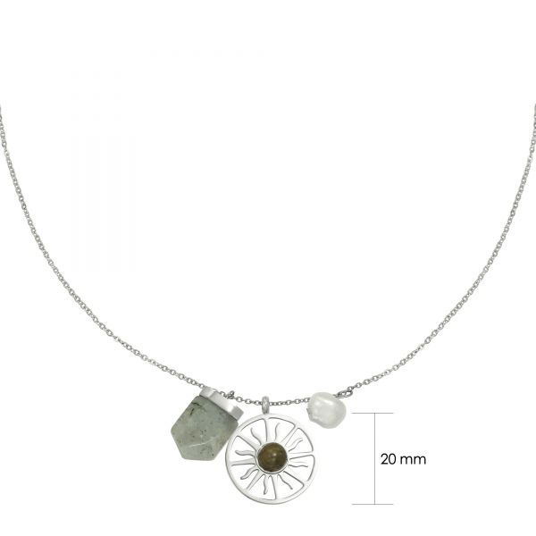 Necklace sunshine gemstone