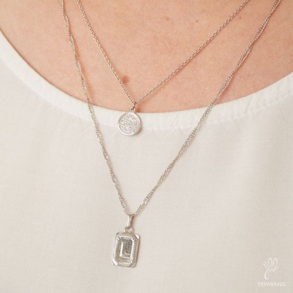 Ketting Antique Initial L