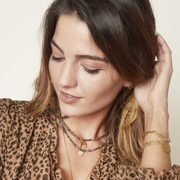 Ketting Leopard Beads