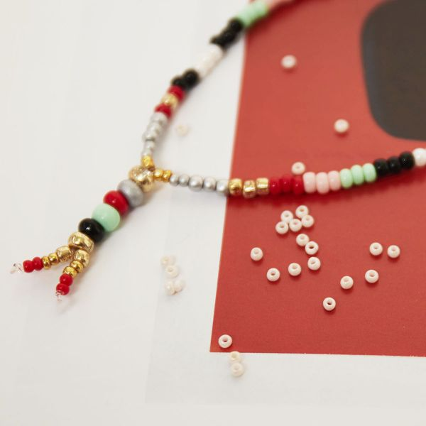 DIY Beads Coloured - 2MM