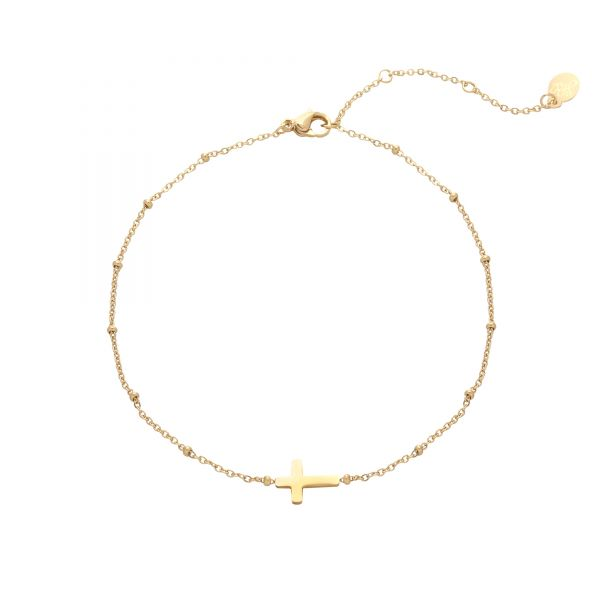 Anklet Classic Cross