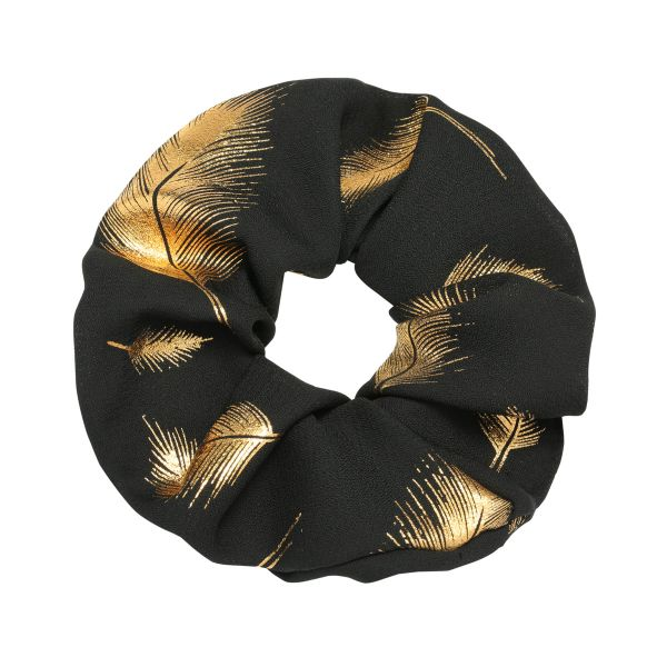 Scrunchie Golden Feather