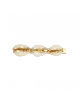 Hair Clip Golden Shells
