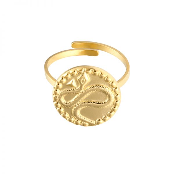 Ring vintage snake