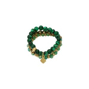 Ring Beads and Clover