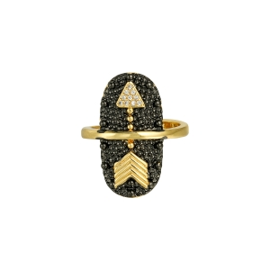Ring Golden Arrow