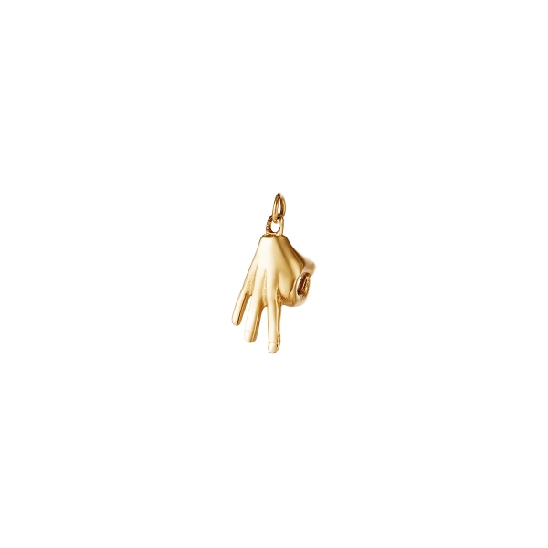 Stainless Steel Charm Hand Ok