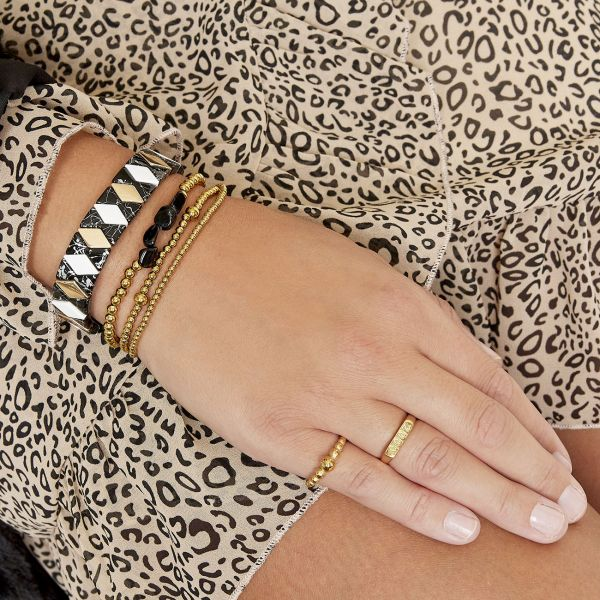 Pulsera black rocks