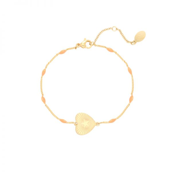 Bracelet beating heart