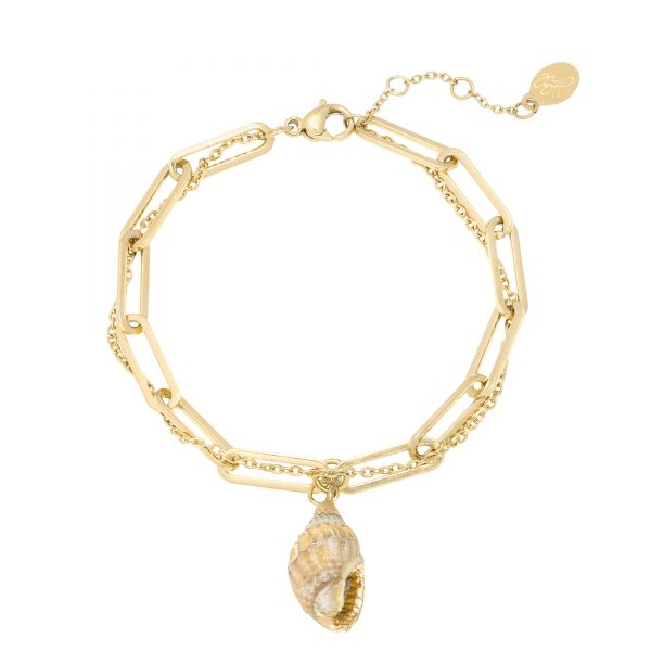 Armband Thick and Thin - Seashell