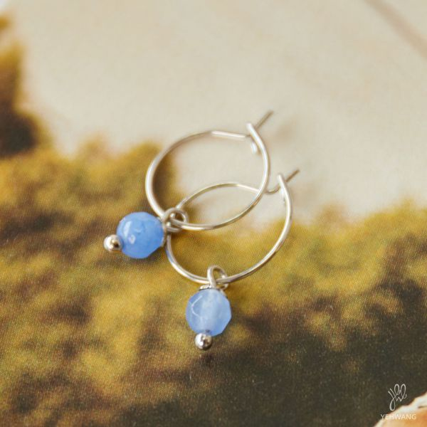Earrings One Stone
