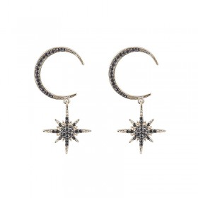 Earrings Morrocan Star