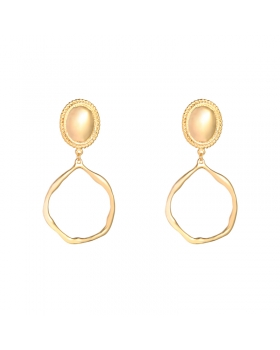 Earrings Roman Hoops