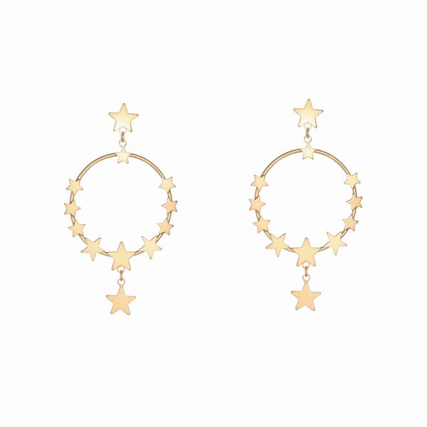 Earrings starry dream