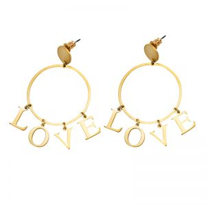 Earrings Hoop & Love