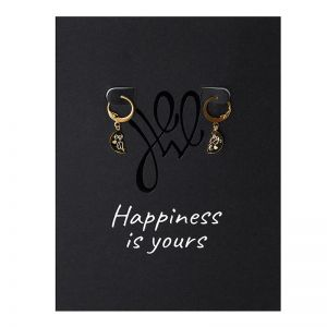 Earrings Postcard Enjoy Life