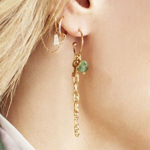 Boucles d'oreilles key chained
