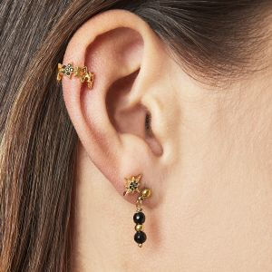 Earcuff stars in a row
