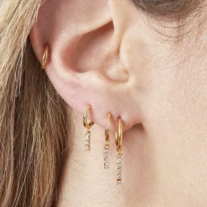 Boucles d'oreilles Dangling Diamonds