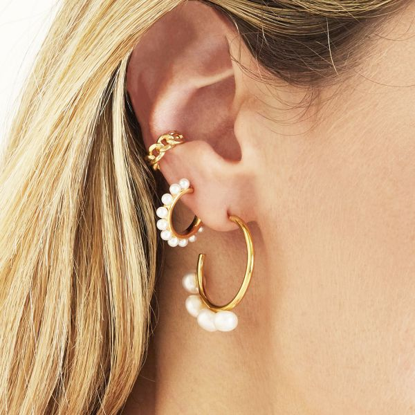 Boucles d'oreilles Pearl Around