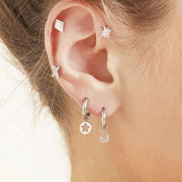 Boucles d'oreilles starry night
