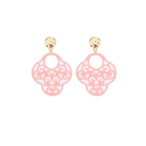 Earrings Colorful Baroque
