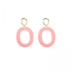 Earrings Funky Oval