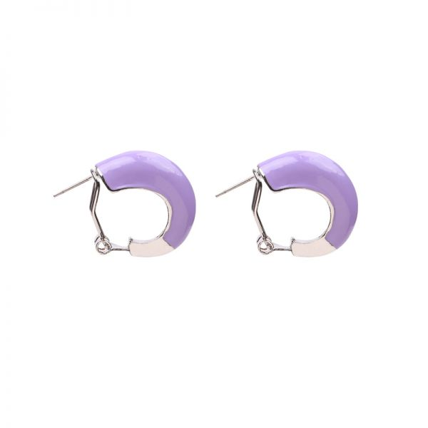 Boucles d'oreilles Colorful Hoops